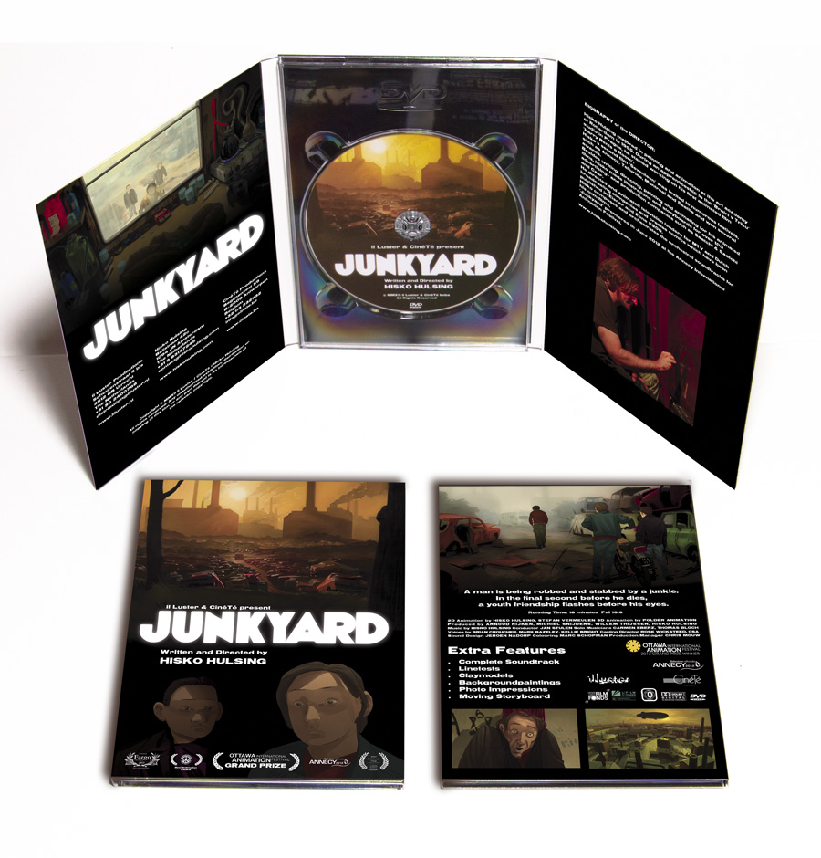 JUNKYARD is available on DVD