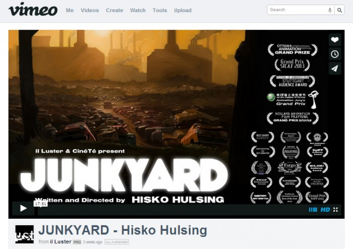 junkyard vimeo website